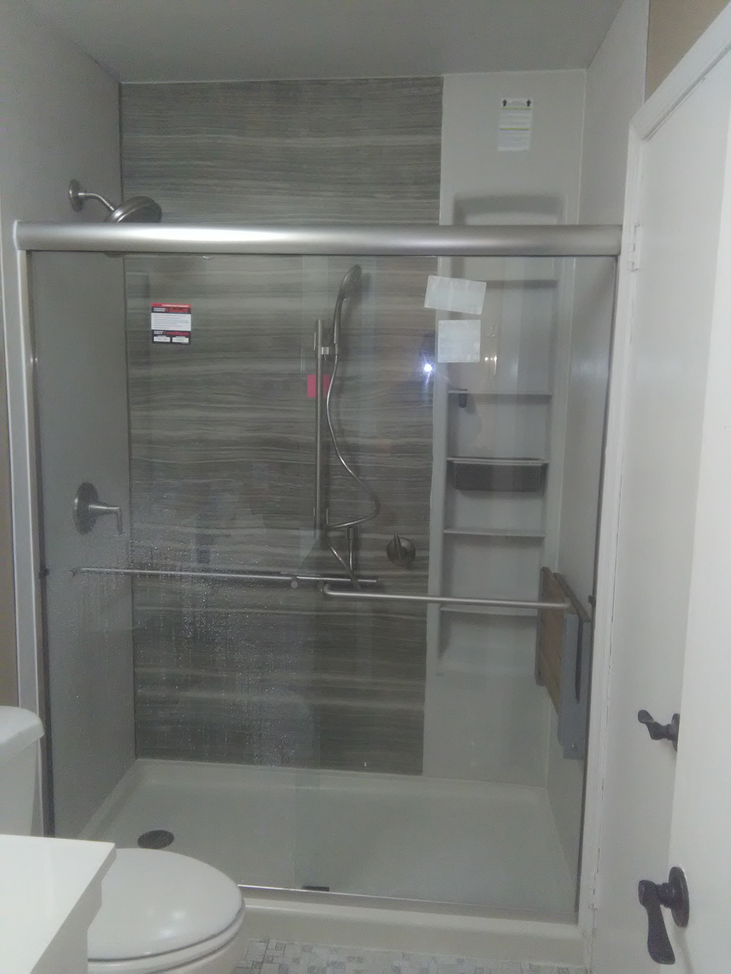 Shower Remodel, Acrylic & Kohler Options | Home Smart