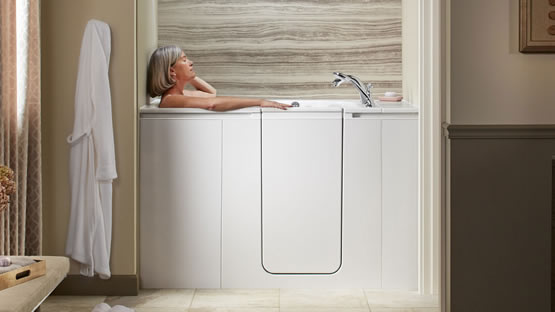 Walk in Tubs, Kohler, Safety Features   Home Smart