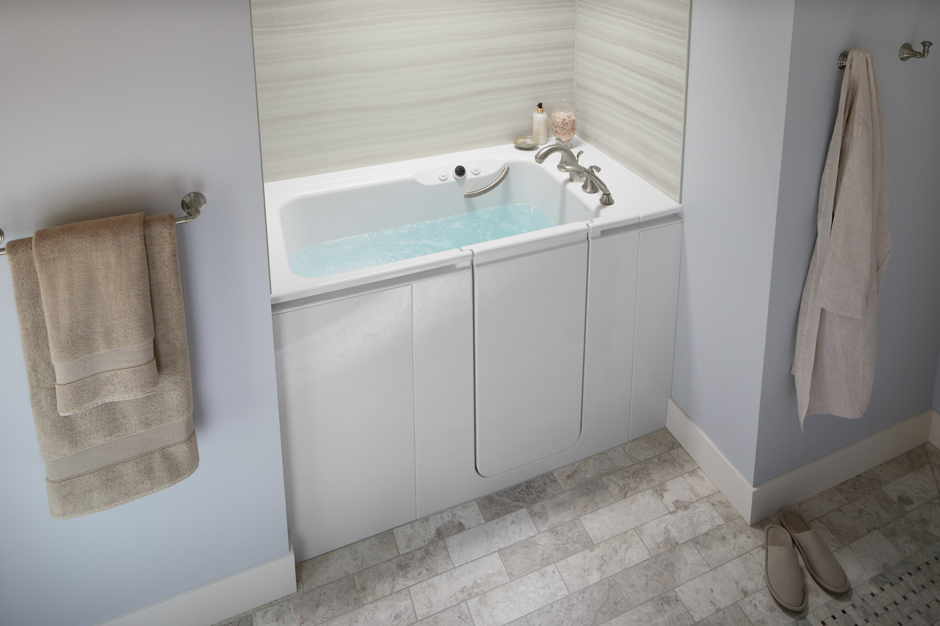 Walk in Tubs, Kohler, Safety Features | Home Smart