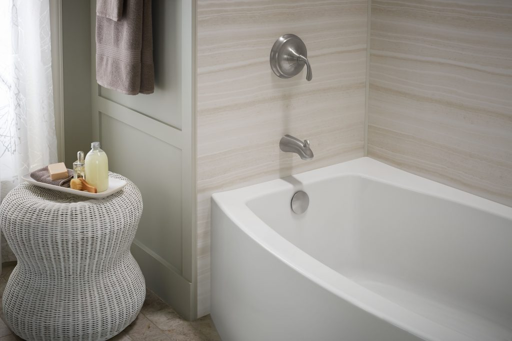 Bathtub Wall Surround Replace Tile Amp Grout Home Smart