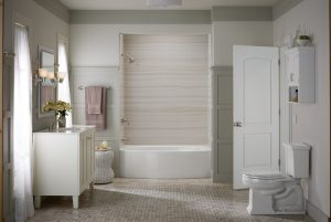Home Smart can convert a shower to tub remodel project in 1 to 2 days.