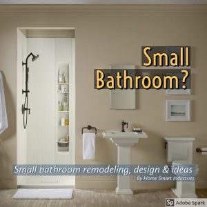 Small Bathroom Ideas By Home Smart. Smart Shower Accessories